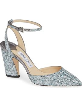 Micky Ankle Strap Pump by Jimmy Choo