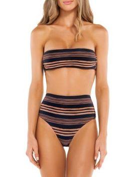 Isabela Bandeau Bikini Top by Vix