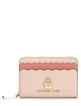 Zip Around Colorblock Coin Card Case by Michael Michael Kors