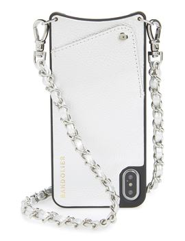Sarah Leather I Phone 8/8 Plus/X/Xs/Xs Max & Xr Crossbody Case by Bandolier