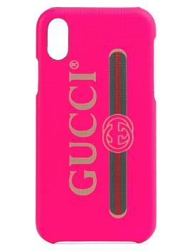 Logo I Phone X/Xs Case by Gucci