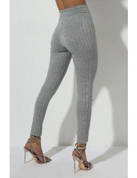 Lookin Like A Snack Knit Pant by Akira