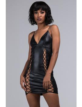 Deserve More Strappy Mini Dress by Akira
