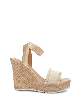 Denim Espadrille Wedges by Forever 21
