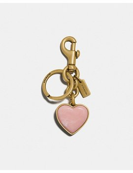 Stone Heart Bag Charm by Coach