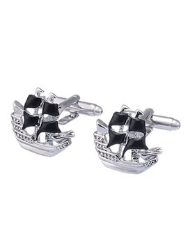 Salutto Men's Cute Shape Special Cufflink With Gift Box by Salutto