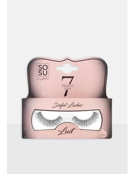 Sosu 7 Deadly Sins Lust Eyelashes by Missguided