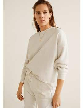 Melert Cropped Sweatshirt by Mango