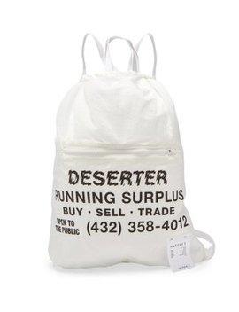 The Gym Bag Printed Backpack by Satisfy