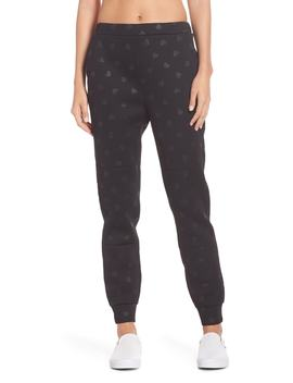 Heart Embossed Jogger Pants by Kate Spade New York