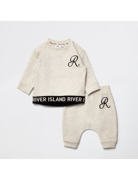Baby Beige Ri Outfit by River Island