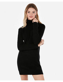 Cozy Turtleneck Sweater Dress by Express