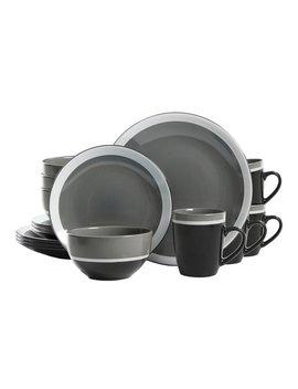 Leopoldo Color Eclipse 16 Piece Dinnerware Set, Service For 4 by Ebern Designs