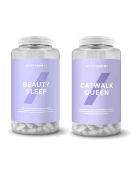 Myvitamins Beauty Sleep And Catwalk Queen Bundle by Myvitamins