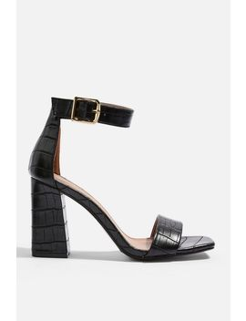 Suki Block Heel Sandals by Topshop