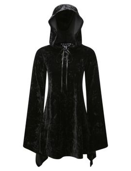 Killstar Velvet Witch Hood Dress  Brand New  Size Xl  Gothic Goth Vamp by Killstar