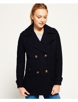 Classic Pea Coat by Superdry