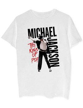 Michael Jackson Men's Graphic T Shirt by Merch Traffic