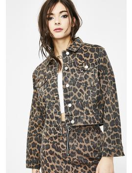 Prints Charming Leopard Jacket by Hayden