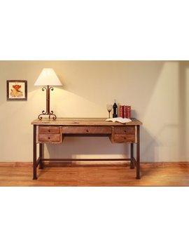 Stiltner Reclaim Wood Desk by Millwood Pines