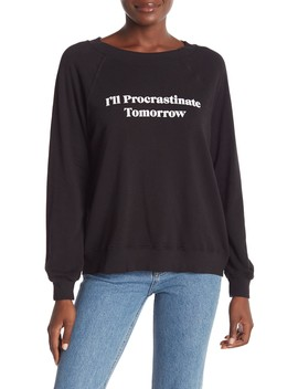 Tomorrow Sommers Graphic Sweatshirt by Wildfox