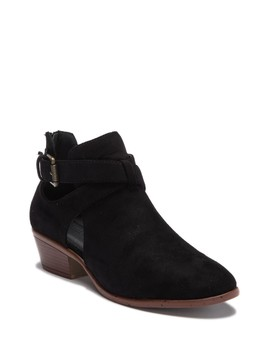 Manny Cutout Ankle Bootie by Wild Diva Lounge