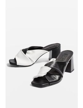 Nepal Twist Mules by Topshop
