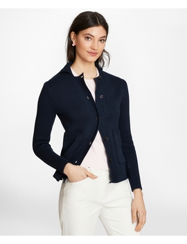 Supima® Cotton Sweater Jacket by Brooks Brothers