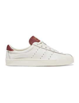 Lacombe Textured Leather Sneakers by Adidas Originals