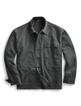 Herringbone Twill Overshirt by Ralph Lauren