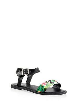 Single Band Ankle Strap Sandals by Rainbow