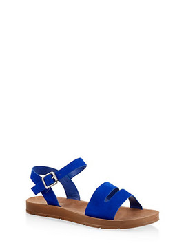 Asymmetrical Strap Sandals by Rainbow