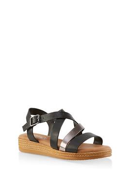 Strappy Platform Sandals by Rainbow