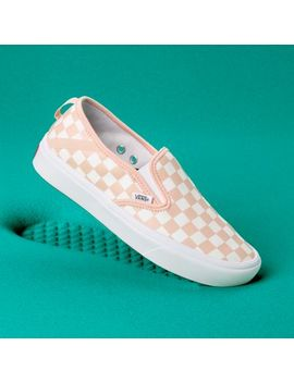Comfy Cush Checker Slip On Sf by Vans
