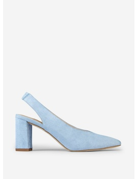 Blue 'Everley' Court Shoes by Dorothy Perkins