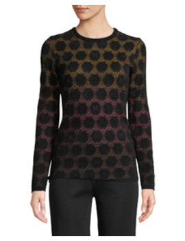 Geometric Ombré Dot Top by M Missoni