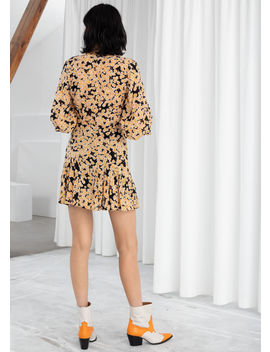 Floral Modal Blend Mini Dress by & Other Stories