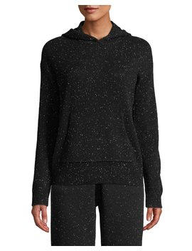 Donegal Cashmere Hooded Pullover Sweater by Theory