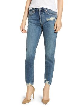 Jamie High Rise Classic Jeans (Grade) by Agolde