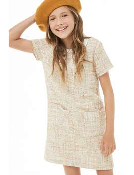 Girls Tweed Dress (Kids) by Forever 21