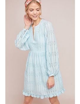 Eyelet Babydoll Dress by Anthropologie