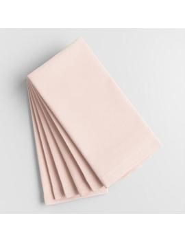 Light Pink Buffet Napkins Set Of 6 by World Market