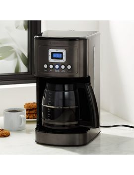Cuisinart ® Black/Stainless 14 Cup Perfectemp Programmable Coffee Maker by Crate&Barrel