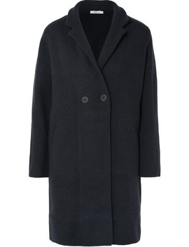 Bellflower Double Breasted Wool Blend Coat by Madewell