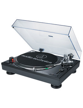 Audio Technica Direct Drive Professional Turntable With Usb Port (Atlp120 Bkusb) by Audio Technica