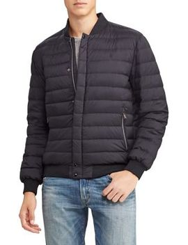 Quilted Nylon Varsity Jacket by Polo Ralph Lauren