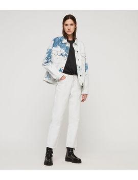 Sage Oversized Denim Jacket by Allsaints