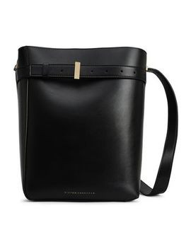 Leather Bucket Bag by Victoria Beckham