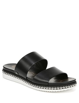 Asha Double Banded Leather Sandals by Sam Edelman