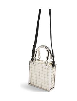 Cady Cage Mini Tote Handbag by Topshop